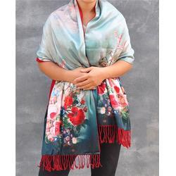 竹纤维披肩最低、乌兰察布 竹纤维披肩、汇佳纺织图片