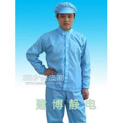防静电服 防静电立领夹克裤子小工帽 分体防护服图片