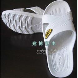 新型SPU防静电拖鞋 防护鞋 静电鞋拖鞋 无尘鞋图片