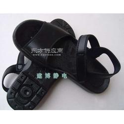 防静电凉鞋 劳保鞋防护鞋 PU洁净鞋无尘鞋图片