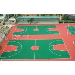 常平丙烯酸篮球场施工图片