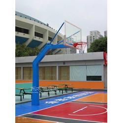 JW-004单臂锥柱篮球架,鲸王体育图片