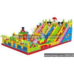 2014款最新儿童充气大滑梯蹦蹦床图片