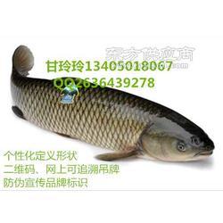 水产鱼吊牌 二维码养殖水产全程追溯吊牌溯源扣图片