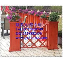 户外花箱-防腐木花箱厂家-组合花箱-实木花箱图片