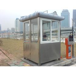 北辰不锈钢岗亭,不锈钢岗亭交通设施,顺升不锈钢制品图片