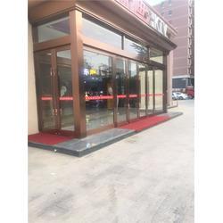 东丽店面玻璃门,店面玻璃门生产,顺升不锈钢实力商家图片