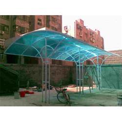 顺升不锈钢挡雨棚制作|阳光板雨棚施工|静海阳光板雨棚图片