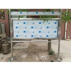 靜海不銹鋼展板、順升不銹鋼展板、不銹鋼展板展示欄圖片