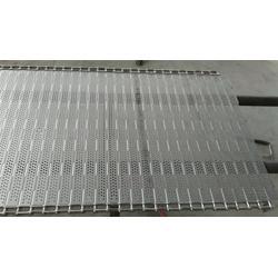华运输送_海城链板_不锈钢冲孔链板图片