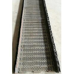 槽钢链板输送带-恒运网链-衡阳链板图片