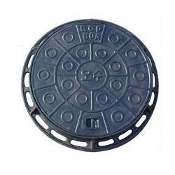 球墨铸铁井盖厂、富凯铸造(在线咨询)、球墨铸铁井盖图片