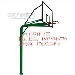 国际标准规格篮球架/165圆管篮球架/地埋式篮球架图片