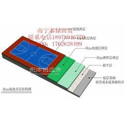 室外篮球地板 水性硅PU运动地板 室外篮球地板图片