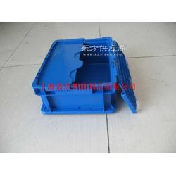 塑料物流箱厂家 带盖塑料周转箱STA箱图片