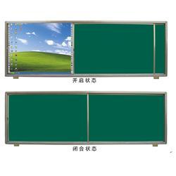 教学推拉黑板,济南书香教具,教学推拉黑板直销图片