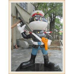 现代儿童游乐园趣味不锈钢烤漆动漫雕塑供货厂商图片