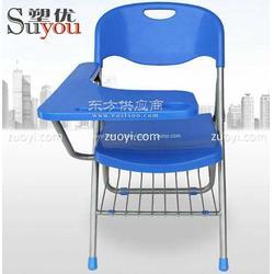 超大尺寸折叠写字板椅 折叠课桌椅 新闻椅 大写字板培训椅 学生椅 员工培训椅 塑料折叠椅 折叠会议座椅图片