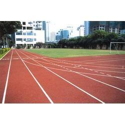焦作透气型跑道-透气型跑道施工-强臣体育透气型跑道图片