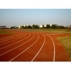 复合型塑胶跑道-复合型塑胶跑道报价-强臣体育图片