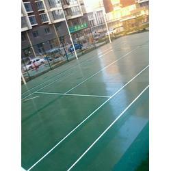 枣庄硅PU 硅PU网球场建设-强臣体育硅PU网球场施工图片