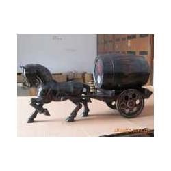 橡木酒桶木马造型实木酒桶订做图片