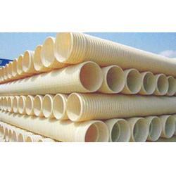 PVC-U波纹管材、爱民塑胶、吉林PVC-U波纹管图片