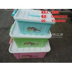 塑料大号小号中号可爱家用整理箱收纳盒收纳箱图片