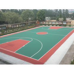 崇文区塑胶pu篮球场-慧博体育-塑胶pu篮球场翻新图片