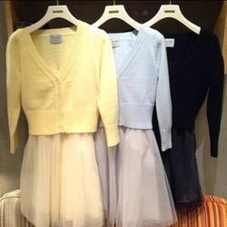春秋针织开衫、针织开衫生产厂家选文丰、针织开衫图片