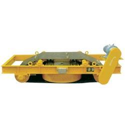 电磁除铁器的工作原理-东营除铁器-鑫邦电磁除铁器图片