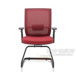 会议椅 网布弓形脚会客椅 洽谈室椅子定制厂家图片