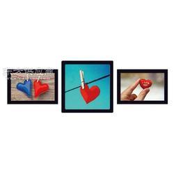 最新带框小品装饰画十字绣简单时尚自行装裱图片