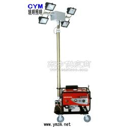 带发电机升降移动照明灯图片
