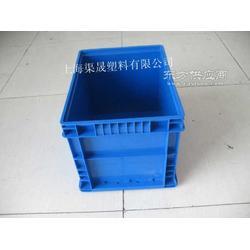 供应蓝色塑料箱 工业塑料箱 塑料物流箱图片