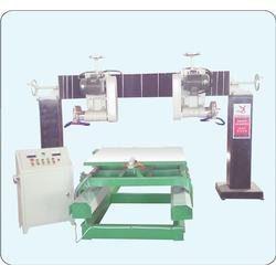 石材加工双头切机,德州双头切机,莱东机械图片