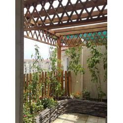 户外木栅栏|户外木栅栏订做|谐诚户外家具户外木栅栏图片