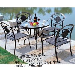珠海清吧专用桌椅|谐诚户外家具|清吧专用桌椅厂家图片