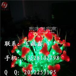韭菜花LED灯杆装饰灯图片