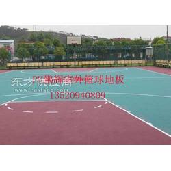 室外运动场地板-室外篮球场悬浮拼装地板图片