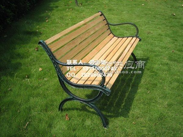 欧式风格铁艺长椅 公园椅子