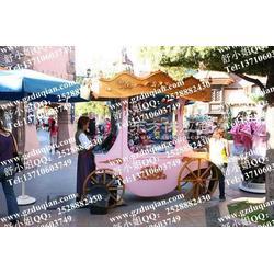 流动户外花车,景观售卖车,移动广场花车图片