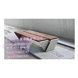 定做步行街休闲椅 锈铸铁椅 商场休闲座椅图片
