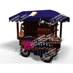 实木展示柜木制售货车加工定做图片