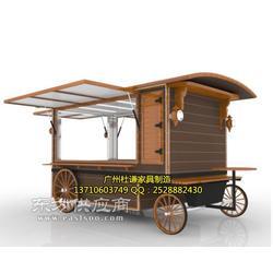街道饮料小吃岗亭移动餐车图片