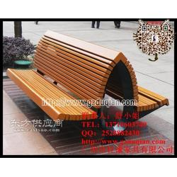 户外公园椅 长椅 公园休闲椅 塑木椅 实木桌椅 防腐公园椅子图片