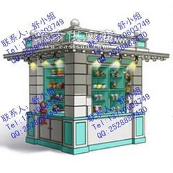 游乐园室外旅游小商品零售花车 主题公园纪念商品售卖亭图片