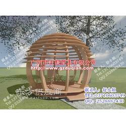 防水顶户外木亭图片