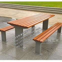 清远园林桌椅 惠州户外桌椅 江门实木桌椅图片