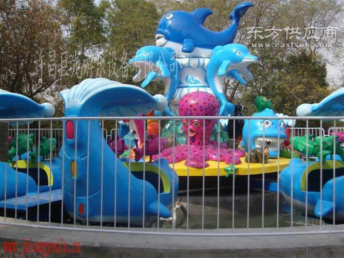 儿童游乐设施激战鲨鱼岛图片